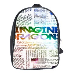 Imagine Dragons Quotes School Bags (xl)  by BangZart