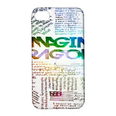 Imagine Dragons Quotes Apple Iphone 4/4s Hardshell Case With Stand by BangZart