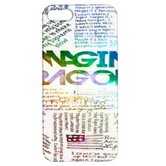 Imagine Dragons Quotes Apple Iphone 5 Hardshell Case With Stand by BangZart
