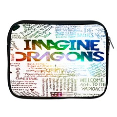 Imagine Dragons Quotes Apple Ipad 2/3/4 Zipper Cases by BangZart