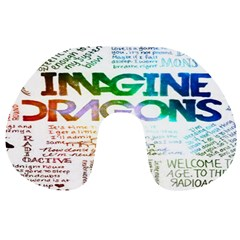 Imagine Dragons Quotes Travel Neck Pillows by BangZart