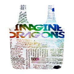 Imagine Dragons Quotes Full Print Recycle Bags (l)  by BangZart