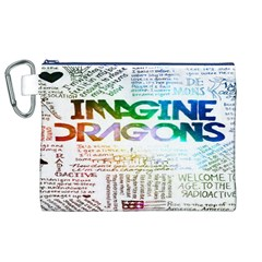 Imagine Dragons Quotes Canvas Cosmetic Bag (xl) by BangZart