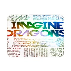 Imagine Dragons Quotes Double Sided Flano Blanket (mini)  by BangZart