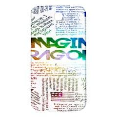 Imagine Dragons Quotes Samsung Galaxy Mega I9200 Hardshell Back Case by BangZart