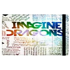 Imagine Dragons Quotes Apple Ipad Pro 9 7   Flip Case by BangZart
