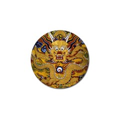 Chinese Dragon Pattern Golf Ball Marker (10 Pack)