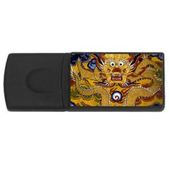 Chinese Dragon Pattern Rectangular Usb Flash Drive by BangZart