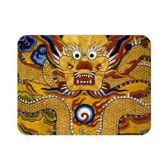Chinese Dragon Pattern Double Sided Flano Blanket (mini)