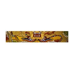 Chinese Dragon Pattern Flano Scarf (mini)