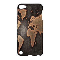 Grunge Map Of Earth Apple Ipod Touch 5 Hardshell Case by BangZart