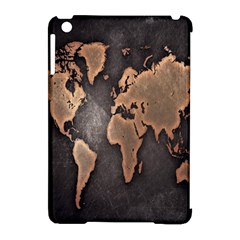 Grunge Map Of Earth Apple Ipad Mini Hardshell Case (compatible With Smart Cover) by BangZart