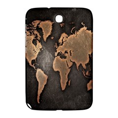 Grunge Map Of Earth Samsung Galaxy Note 8 0 N5100 Hardshell Case