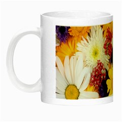 Colorful Flowers Pattern Night Luminous Mugs