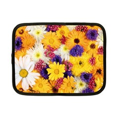 Colorful Flowers Pattern Netbook Case (small)