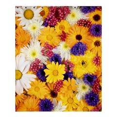 Colorful Flowers Pattern Shower Curtain 60  X 72  (medium)  by BangZart