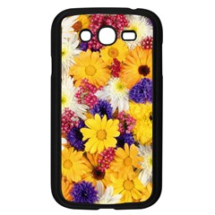Colorful Flowers Pattern Samsung Galaxy Grand Duos I9082 Case (black)