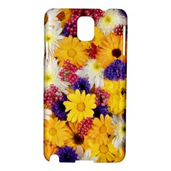 Colorful Flowers Pattern Samsung Galaxy Note 3 N9005 Hardshell Case