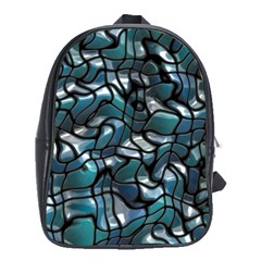 Old Spiderwebs On An Abstract Glass School Bags (xl)