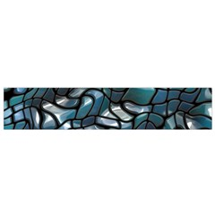 Old Spiderwebs On An Abstract Glass Flano Scarf (small)
