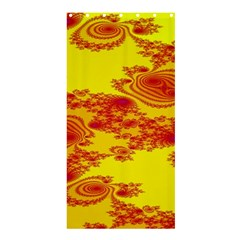 Floral Fractal Pattern Shower Curtain 36  X 72  (stall)