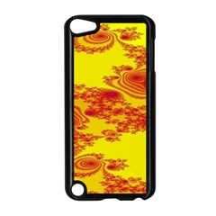 Floral Fractal Pattern Apple Ipod Touch 5 Case (black) by BangZart