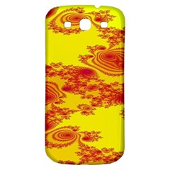 Floral Fractal Pattern Samsung Galaxy S3 S Iii Classic Hardshell Back Case