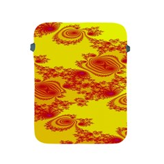 Floral Fractal Pattern Apple Ipad 2/3/4 Protective Soft Cases