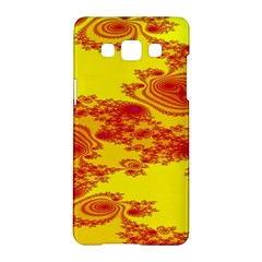 Floral Fractal Pattern Samsung Galaxy A5 Hardshell Case