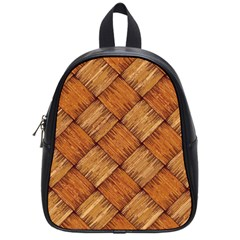 Vector Square Texture Pattern School Bags (small)