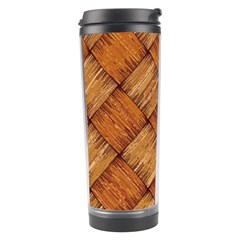 Vector Square Texture Pattern Travel Tumbler