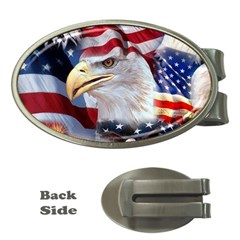 United States Of America Images Independence Day Money Clips (oval)  by BangZart