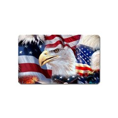 United States Of America Images Independence Day Magnet (name Card)