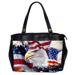 United States Of America Images Independence Day Office Handbags (2 Sides)  by BangZart