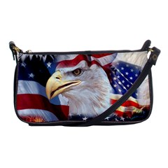 United States Of America Images Independence Day Shoulder Clutch Bags