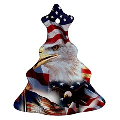 United States Of America Images Independence Day Ornament (christmas Tree)  by BangZart