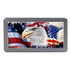 United States Of America Images Independence Day Memory Card Reader (mini)