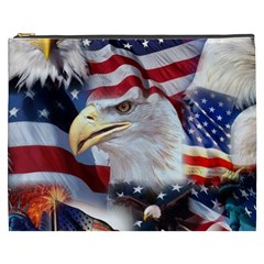 United States Of America Images Independence Day Cosmetic Bag (xxxl)