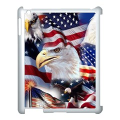 United States Of America Images Independence Day Apple Ipad 3/4 Case (white) by BangZart