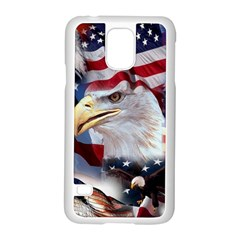United States Of America Images Independence Day Samsung Galaxy S5 Case (white)