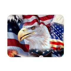 United States Of America Images Independence Day Double Sided Flano Blanket (mini)  by BangZart