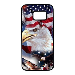 United States Of America Images Independence Day Samsung Galaxy S7 Black Seamless Case
