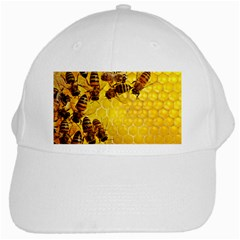 Honey Honeycomb White Cap