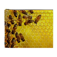 Honey Honeycomb Cosmetic Bag (xl)