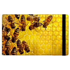 Honey Honeycomb Apple Ipad 3/4 Flip Case by BangZart