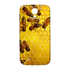 Honey Honeycomb Samsung Galaxy S4 I9500/i9505  Hardshell Back Case