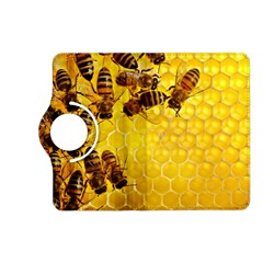 Honey Honeycomb Kindle Fire Hd (2013) Flip 360 Case by BangZart