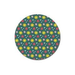 The Gift Wrap Patterns Magnet 3  (round)