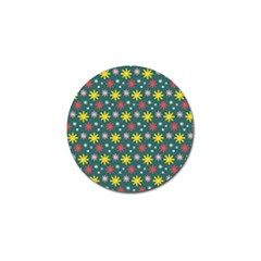 The Gift Wrap Patterns Golf Ball Marker (10 Pack)