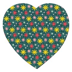 The Gift Wrap Patterns Jigsaw Puzzle (heart)